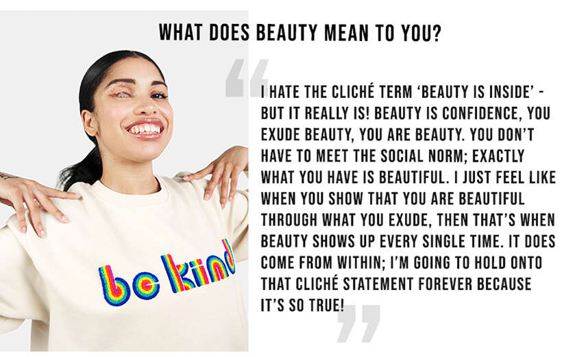 What does beauty mean to you?