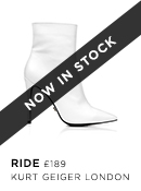 Ride - Kurt Geiger London - Available 31st July