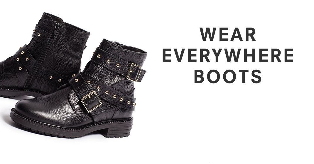 Wear Everywhere Boots