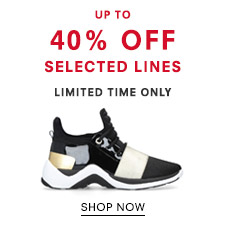 Up To 40% Off Selected Lines - Limited Time Only