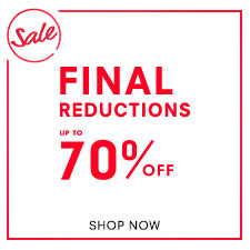 End Of Season Sale - Up To 70% Off - Final Reductions