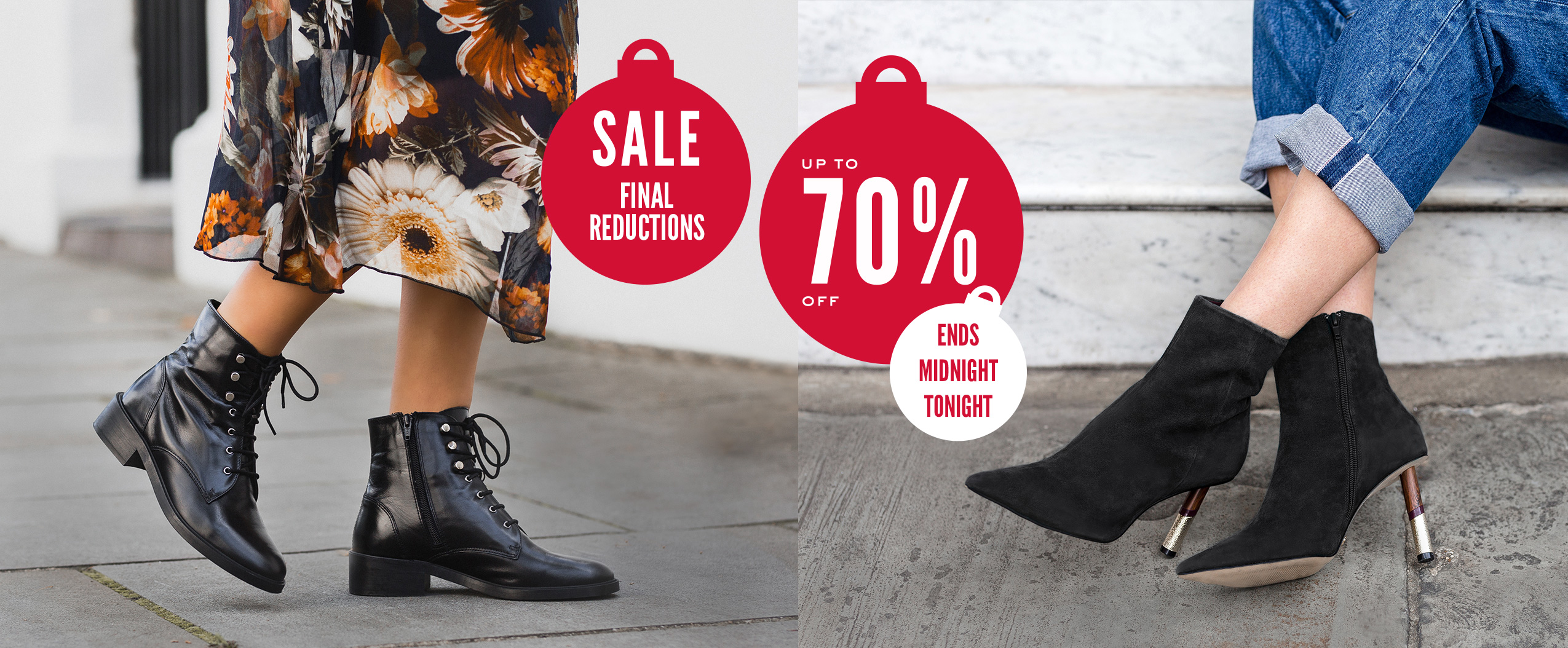 Sale - Final Reductions - Ends Midnight Tonight