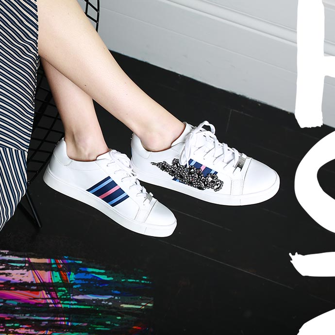 how to style the white sneaker