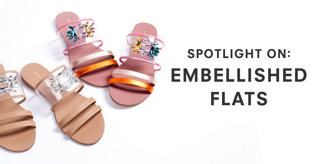Spotlight On: Embellished Flats