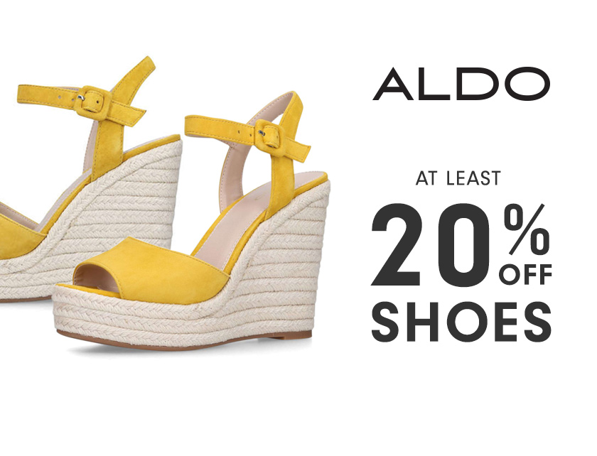 9c25639f0 Nearly 20% Off Aldo Shoes - Limited Time Only
