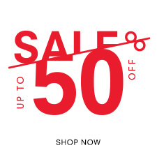 Sale. Up to 50% Off