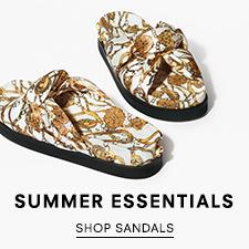 Summer Essentials - Shop Sandals