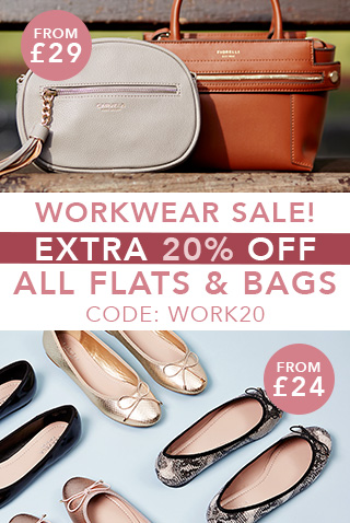 Extra 20% off all flats & bags