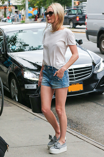Kate Bosworth wears KG Kurt Geiger