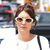 Emma Roberts wears Carvela Kurt Geiger