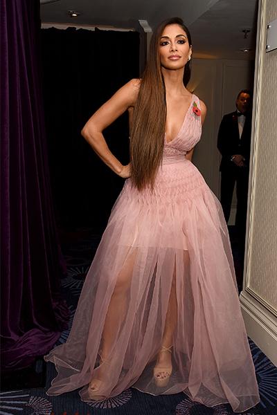 Nicole Scherzinger wears KG Kurt Geiger