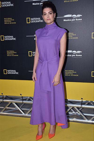 Samantha Colley wears Carvela Kurt Geiger