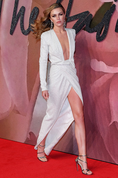 Abbey Clancy wears Carvela Kurt Geiger