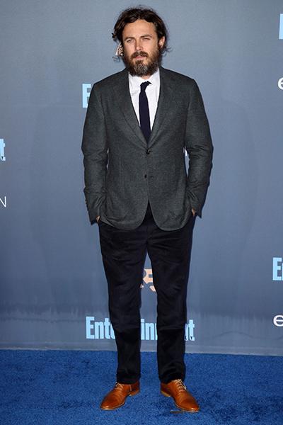 Casey Affleck wears Kurt Geiger London