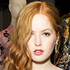 Ellie Bamber wears Kurt Geiger London