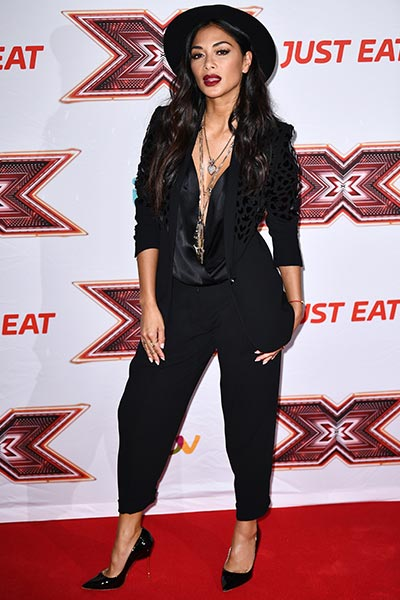 Nicole Scherzinger wears Kurt Geiger London 'Britton'