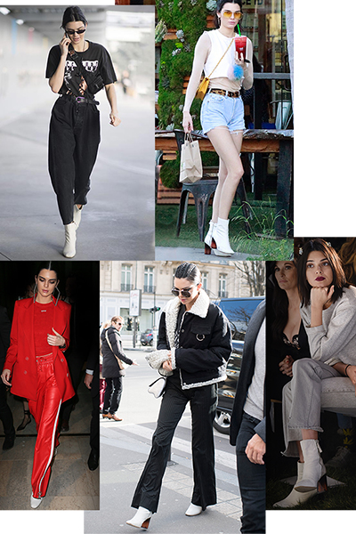 Kendall Jenner styles the perfect ankle boot