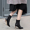 The Classic Black Ankle Boot