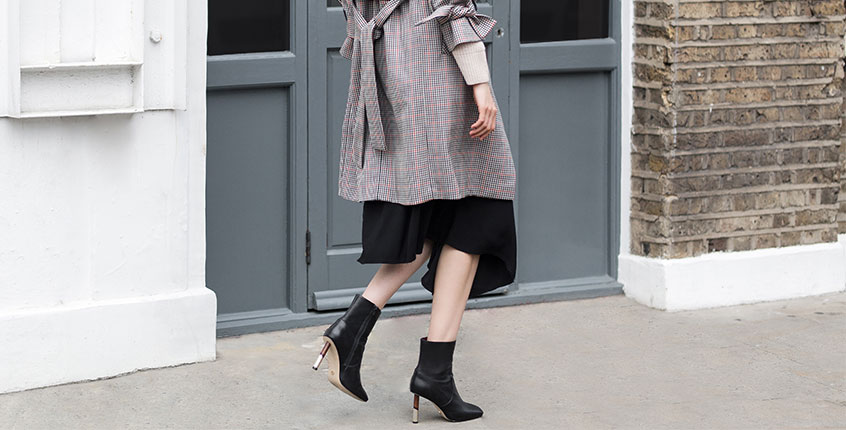 3 ways to style the classic black ankle boot
